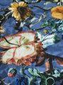 Detail dekbedovertrek Famke Moonlight Blue van Essenza